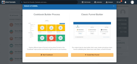 ClickFunnels Funnel Builder