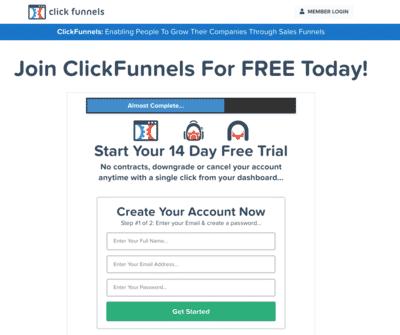 Trial ClickFunnels For FREE Before You Buy