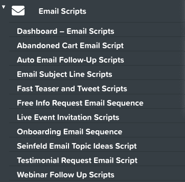 Funnel Scripts Review - Email Scripts