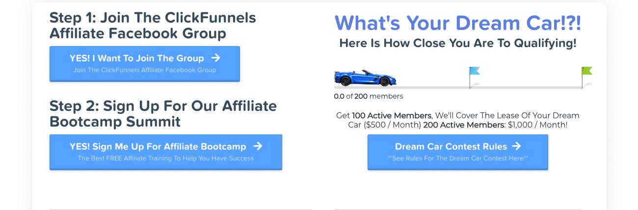 ClickFunnels Affiliate - ClickFunnels Dream Car