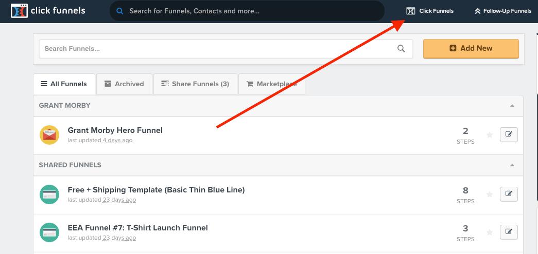 Delete A Funnel In ClickFunnels